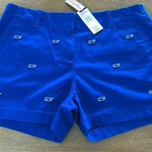 Vineyard Vines Whale Embroidered Shorts Everyday